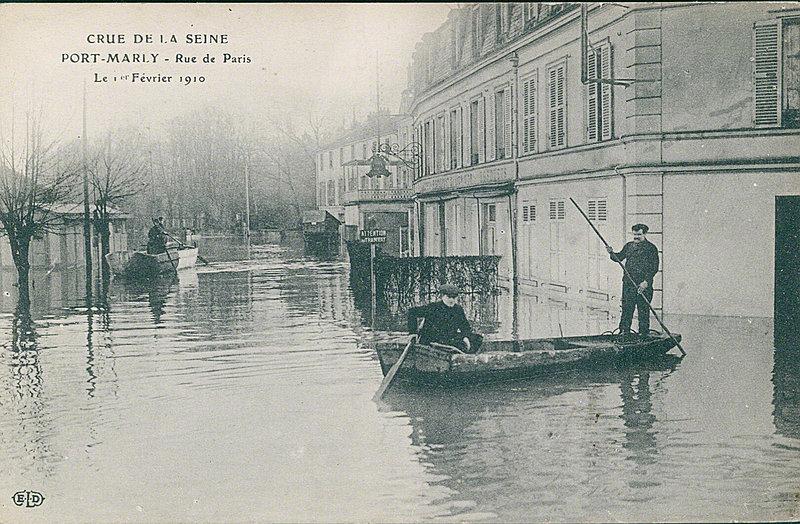carte postale sur le port marly port marly m 233 moire vivante cartes postales