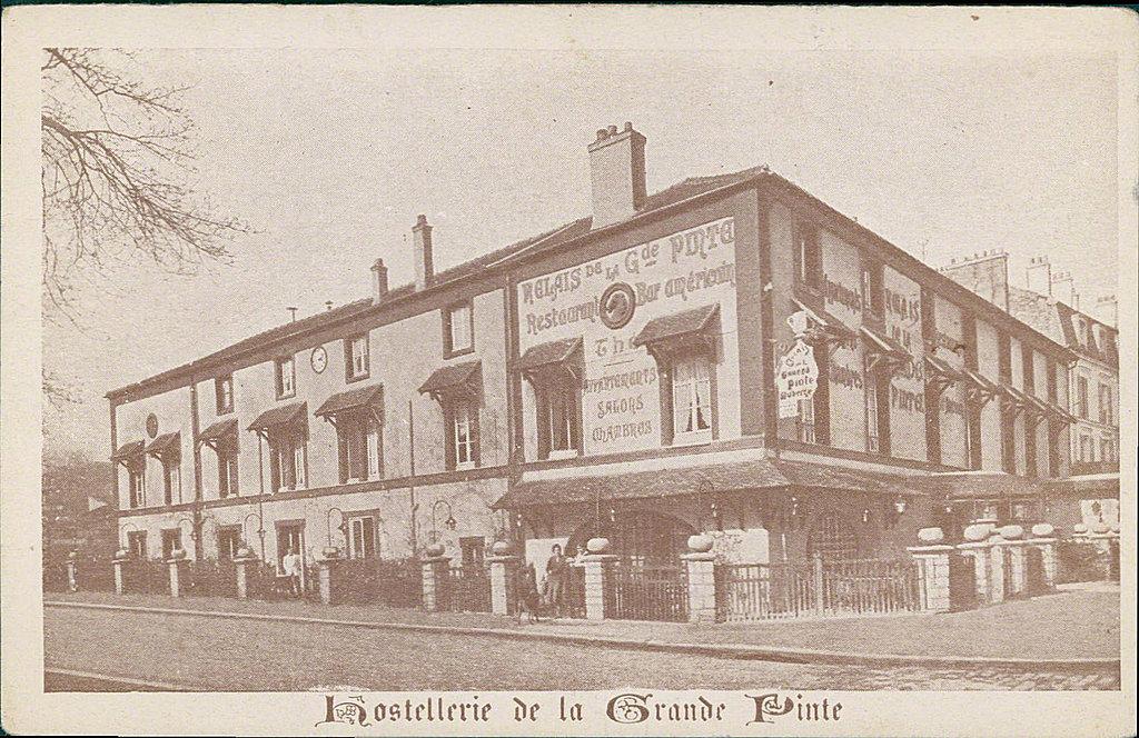 Carte postale sur Le Port-Marly - France