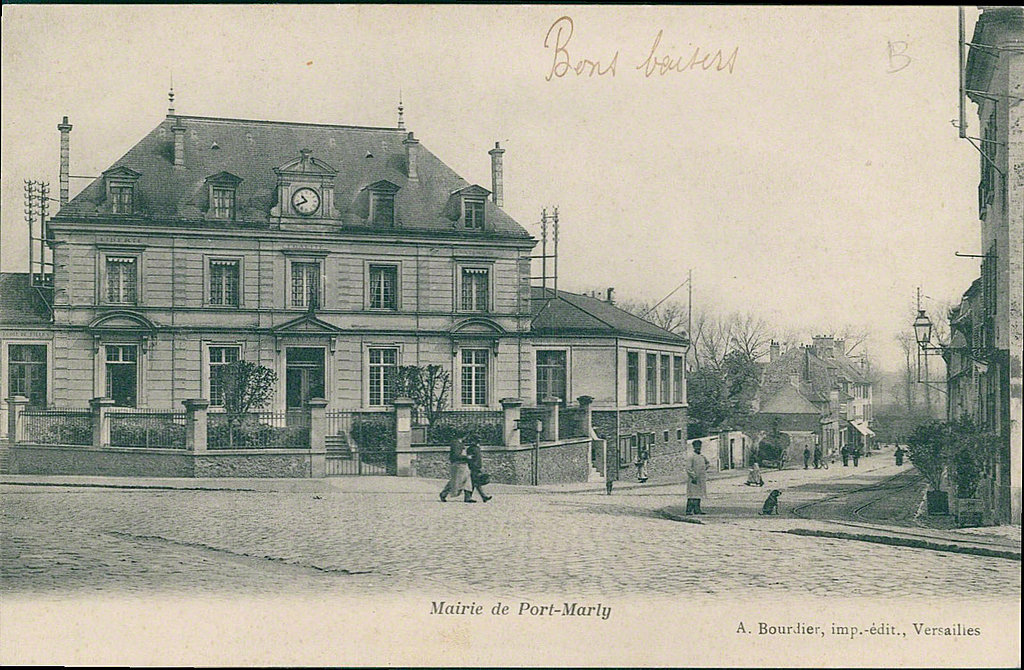 Mairie - rue de Versailles