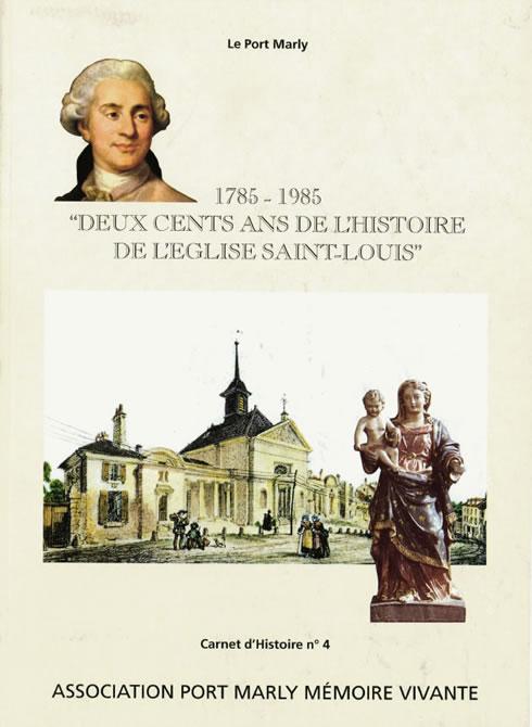 Cahier d'histoire de l'église de Port-Marly