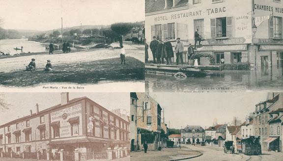Cartes postales sur Port-Marly