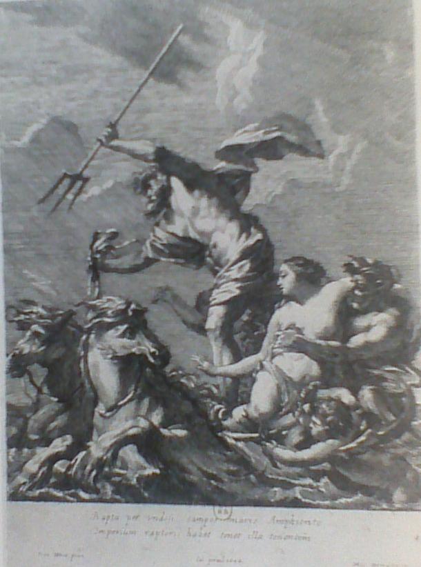 Dorigny, gravure, 1644
