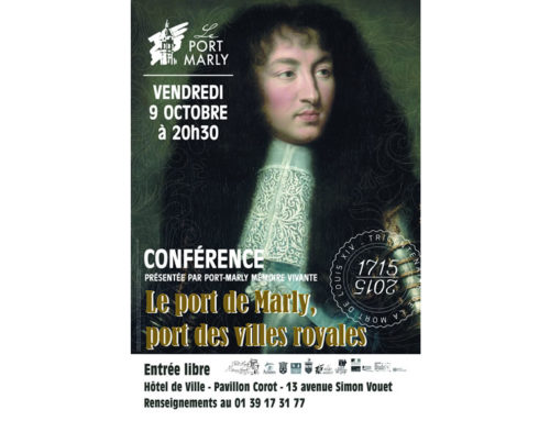 Conférence Le port de Marly, vendredi 9 octobre 2015